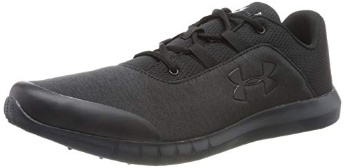 Under Armour UA Mojo, Scarpe da Corsa Uomo, Nero (Black Anthracite 001), 41 EU