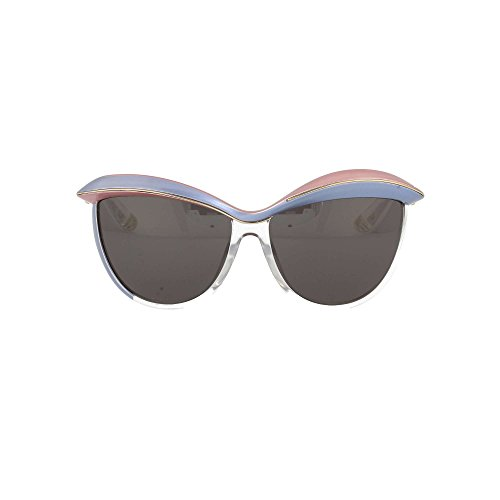Dior EXQ Rosa Hellblau Klar Demoiselle 1 Cats Eyes Sunglasses Lens Category 3