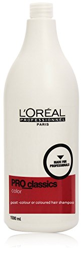 LOreal Pro Classics Color Post or Coloured Hair Shampoo 1500 mL With Ayur Soap image