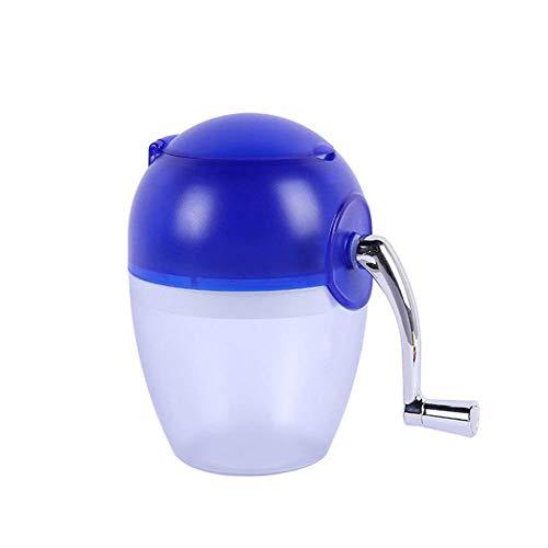 BSJZ Manueller Ice Crusher Modernes Design eiscrusher manuell Mit der Handkurbel können Sie überall EIS crushen ohne auf Strom angewiesen zu Sein