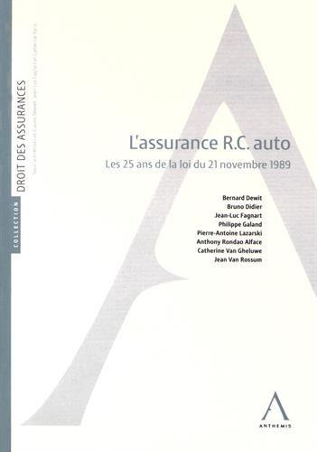 Assurance RC auto : Les 25 ans de la loi du 21 novembre 1989