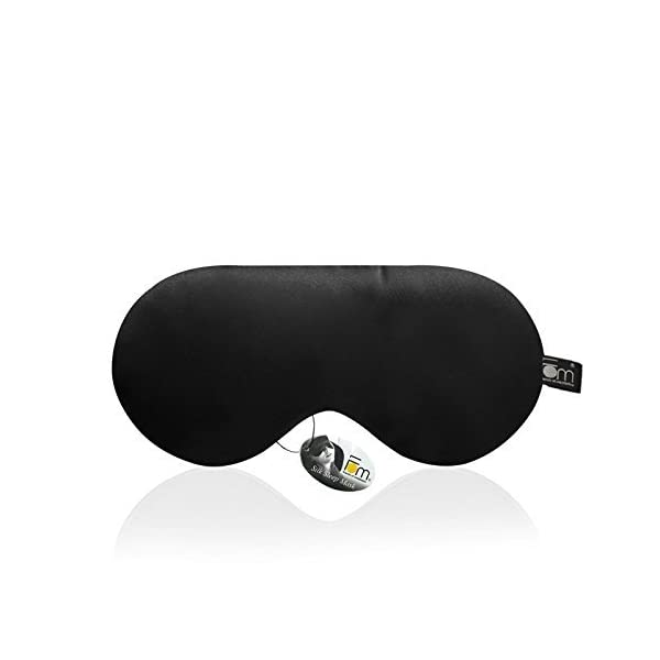 Friends of Meditation ® 100 % Mulberry Silk, Super Smooth Sleep Mask And Blind Fold
