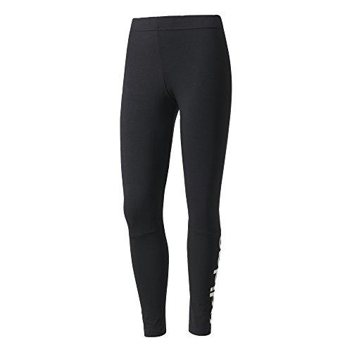 adidas Ess Lin Tight, Leggings Sportivi Donna, Nero/Bianco, 36 (Taglia Produttore:XS)