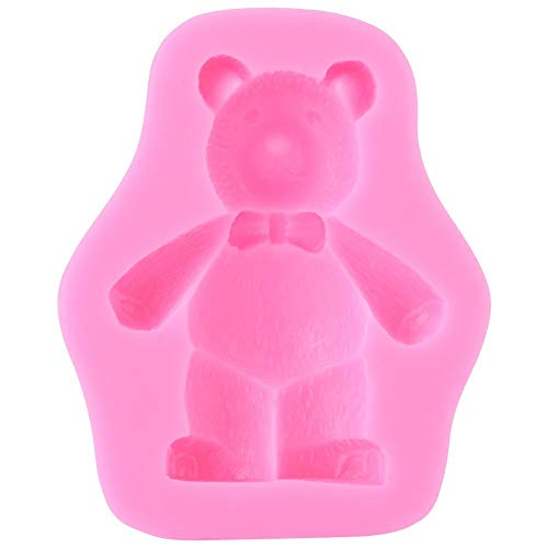 Jeffergarden Little bear Schokoladenform Silikonformen Cake Maker Druckform Küchenwerkzeuge Kleine Flan-ring