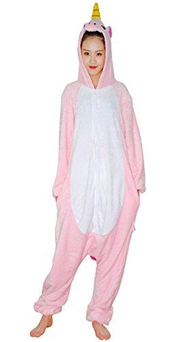 Imagen de chicone unicorn kigurumi pijamas unisexo adulto traje disfraz animal adulto animal pyjamas traje disfraz de halloween