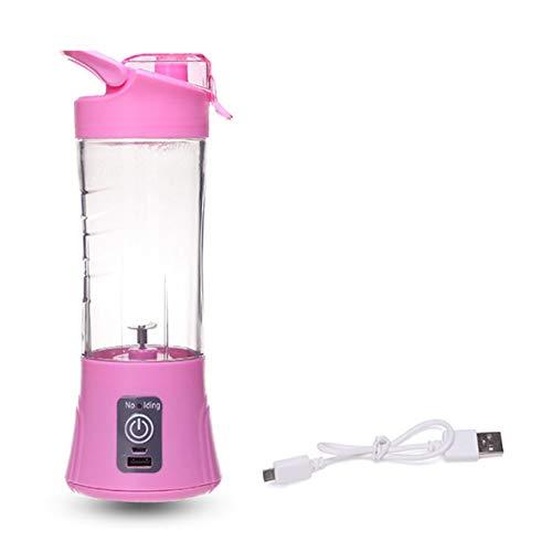 Swiftswan USB elettrico spremiagrumi di sicurezza, mixer succo di frutta, mini portatile ricaricabile/Juicing miscelazione frullatore di ghiaccio miscelatore, bottiglia d'acqua
