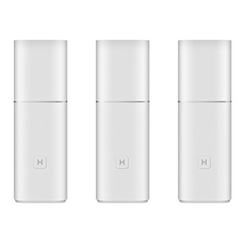 Huawei A1 Whole Home Wi-Fi-Mesh-System, sicherer Anti-Brute-Algorithmus - mit Kindersicherung, LAN-WLAN-Repeater 1 Gbit/s Wi-Fi Router Weiß (3er Pack)