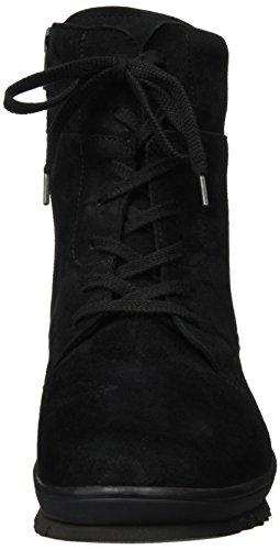 Semler Damen Frida Biker Boots Schwarz (001 schwarz)