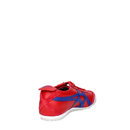 Asics Mexico 66, Sneakers Basses Homme Rouge