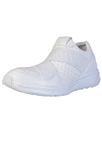Armani 9350607p419, Sneaker Basse Uomo Bianco