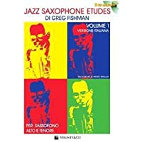 Jazz saxophone etudes. Con 2 CD Audio: 1