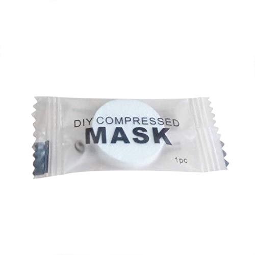 MA87 Komprimierte Gesichtsmaske Schönheit DIY Wegwerfmasken-Papier-natürliche Baumwolle 100PCS / 50PCS / 30PCS / 20PCS / 10PCS (30PCS, Weiß) - Reizende Holz-cd / Dvd