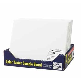 """Espuma Tabla de Pro Color Muestra de prueba 10""""x 12"""""""