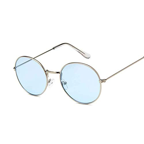 FGRYGF-eyewear2 Sport-Sonnenbrillen, Vintage Sonnenbrillen, Vintage Round Sunglasses Women Lens Mirror Sun Glasses Metal Frame Circle Glasses Uv400