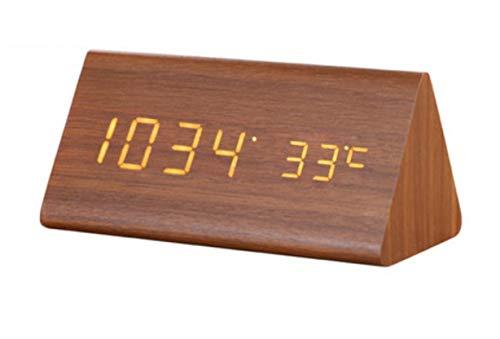 XIAWN Kreative kleine elektronische Tischuhr des Miniweckers -