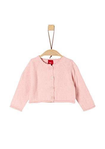 s.Oliver Baby-Mädchen 59.902.64.8699 Strickjacke, Rosa (Light Rose 4058), Herstellergröße: 86