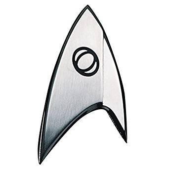 Unbekannt Quantum Mechanix Abysse Corp_BIJQMX002 Star Trek - Abzeichen-Badge: Sciences, Mehrfarbig