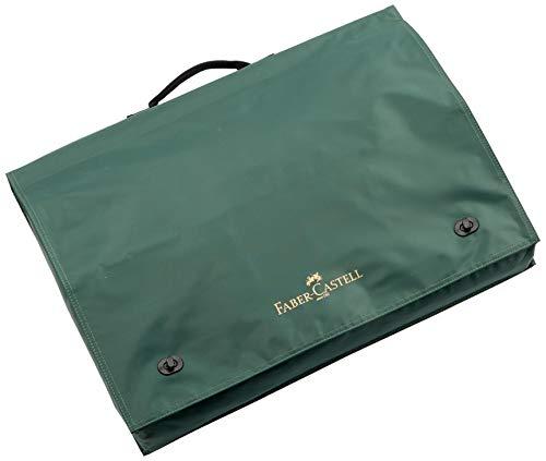Faber Castell - Borsa  per blocco da disegno, formato A3, in tessuto