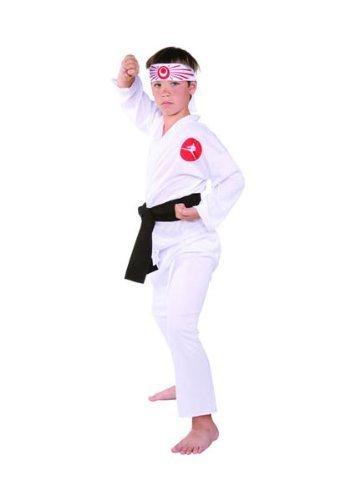 RG Costumes Karate Boy Costume, White, Large by RG ()