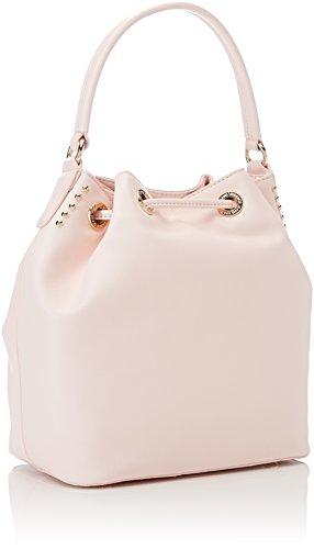 Versace Jeans Linea Q, Borsa a Secchiello Donna, 15x27x24 cm Rosa (Rosa Intimo)