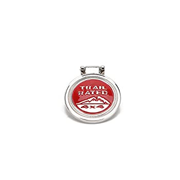 Keyring , Metal Trail Rate 4x4 Souvenirs Keychain 3d Badge Logo (Rot) 2