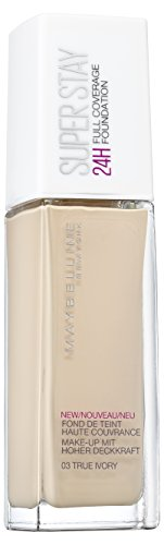 Maybelline Superstay 24H Make-up, Nr. 03 True Ivory, 30 ml -