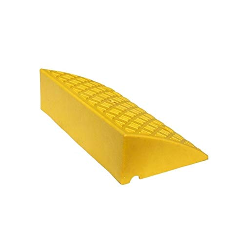 Chandelier - HeWHui Auto Rampen, gelb Kunststoff Fahrzeug Rampen Anti-Rutsch-Verschleißschutz-Service-Ramps Krankenhaus for Behinderte Rollstuhl-Rampen Höhe: 14 cm Dekorative Wandleuchte