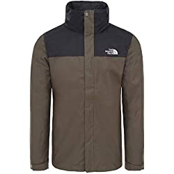The North Face Evolve II Triclimate Chaqueta, Hombre, New Taupe Green, M