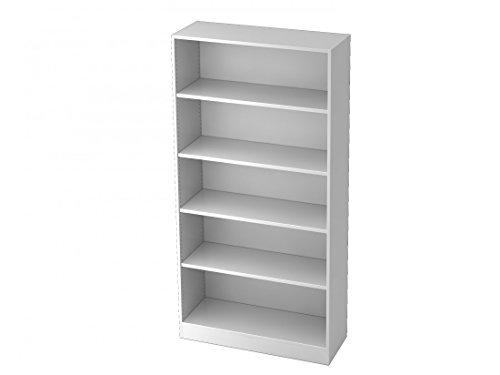 Aktenregal DR-Büro Serie V6 - Regal 5 Ordnerhöhen - Maße 100 x 40 x 200,4 cm - erweiterbar - 5...