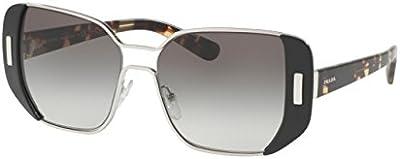 Prada Gafas de Sol Mod. 59SS 1AB0A7 54_1AB0A7 (54 mm) Plateado / Gris