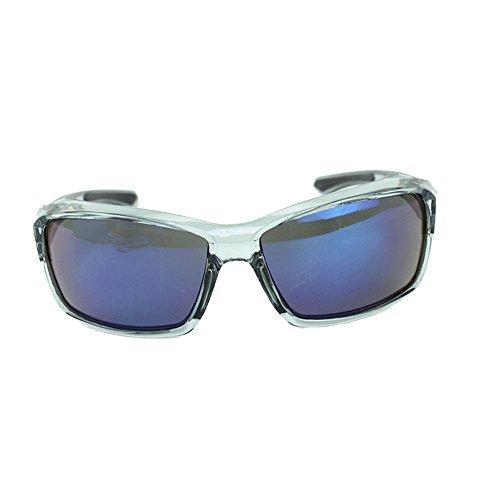Easy Go Shopping Geeignet für Outdoor-Radsportliebhaber Radsportbrille Fahrrad Farbwechselbrille Erwachsene Outdoor-Brille Sonnenbrillen und Flacher Spiegel (Farbe : Grau)