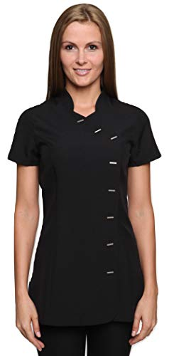 Mirabella health & beauty abbigliamento estetista casacca donna arete nero 40