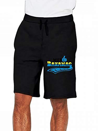 Me Gusta Bahamas Hibiscus Tattoo Mens Casual Short Trouser