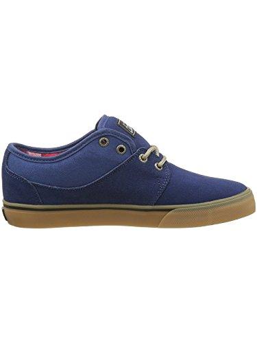 Globe Mahalo, Chaussures de Skateboard Homme Navy Tartan Gum