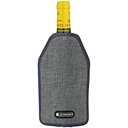 Le Creuset 59142013206468 rafraichisseur polyester gris, Noir