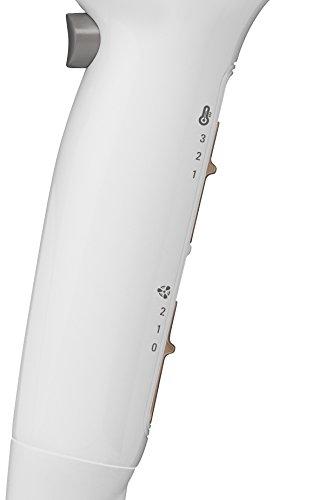 Rowenta  CV5090F0 Powerline Plus - Secador de 2300 W potente, función Ionic, boquilla concentradora de aire y difusor, 2 velocidades y 3 temperaturas, botón de aire frío