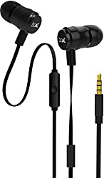 Boat Bassheads 235 V2 in-Ear Super Extra Bass Earphones with Mic (Charcoal Black)