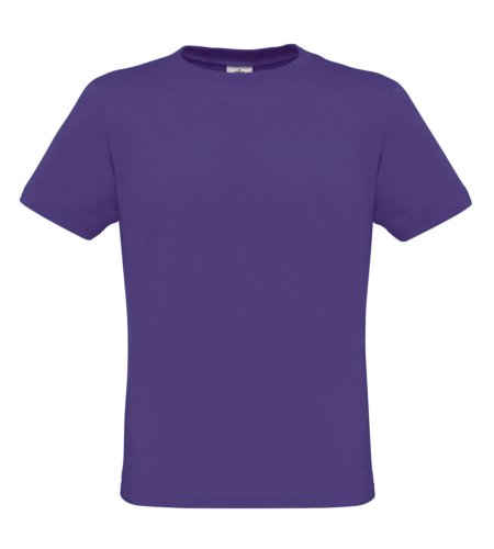 BCTM010 T-Shirt Men-Only Herren Shirt Purple