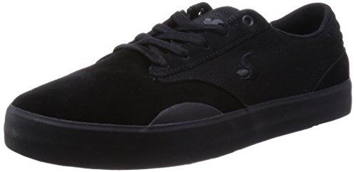 DVS, Sneaker uomo Nero nero, Black Suede Canv, 10.5 / 44.5