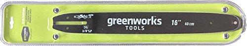 Greenworks Tools 29757 Guide pour tronçonneuse Vert, 40cm