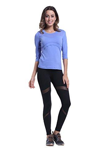 ZOANO - Legging de sport - Relaxed - Femme Noir