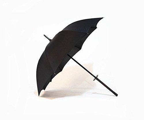 Madaye Schwarz Katana Regenschirm Geschenk Regenschirm Herren kommerzielle Regenschirm