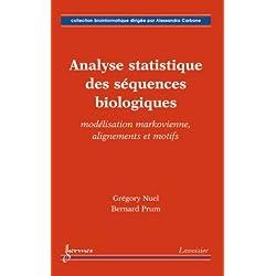 Analyse statistique des séquences biologiques : Modélisation markovienne, alignements et motifs