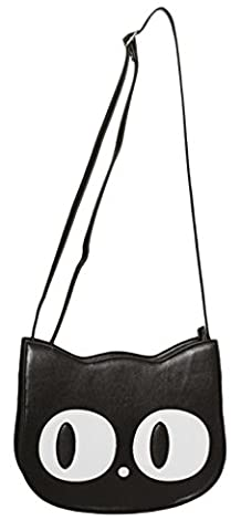 Banned Apparel Addis Kitty Shoulder Bag Black