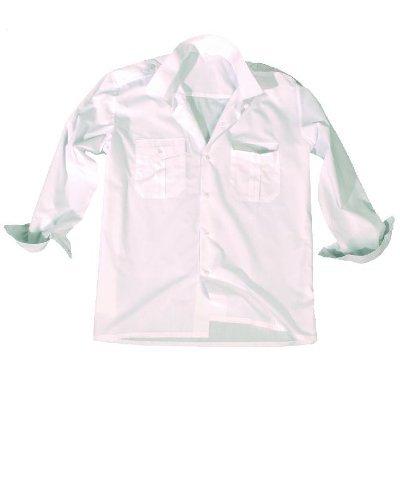 Diensthemd 1/1 taille xXL (blanc)