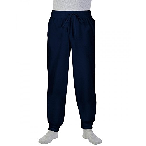 Gildan Heavy Blend™ Sweatpants with Cuff in Navy Größe: 4XL