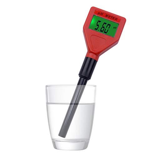 Ph-Mutter, HochpräZise Lcd-Anzeige Hohe PräZision Ph-Meter-Acidimeter Mit Ph-Elektrodenmessbereich Von Ph 0-14 FüR Trinkwasser-QualitäTsprüFgeräT, SchwimmbäDer -