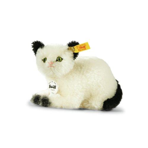 Preisvergleich Produktbild Steiff 033483 Kitty Katze 14 mohair liegend