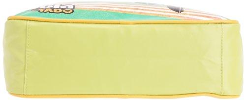 Gola Classics  Redford Track, Damen Umhängetasche Blu - Bianco - Verde acido