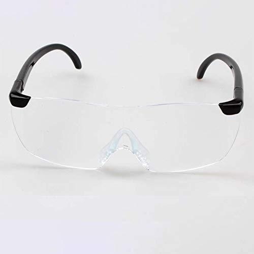 shuaishuang573 1.6 Vergrßerungs Lesebrille Flameless Brillen Lupe 250 Grad-Objektiv